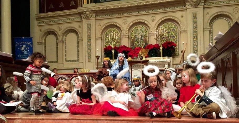 If kids get to worship by putting on pageants in church, then why can't adults?