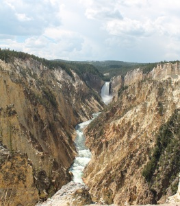 Artist Point, Yellowstone National Park (one of my most favorite places in the world)